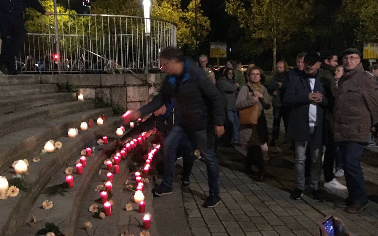 Demo in Essen nach Terror in Halle