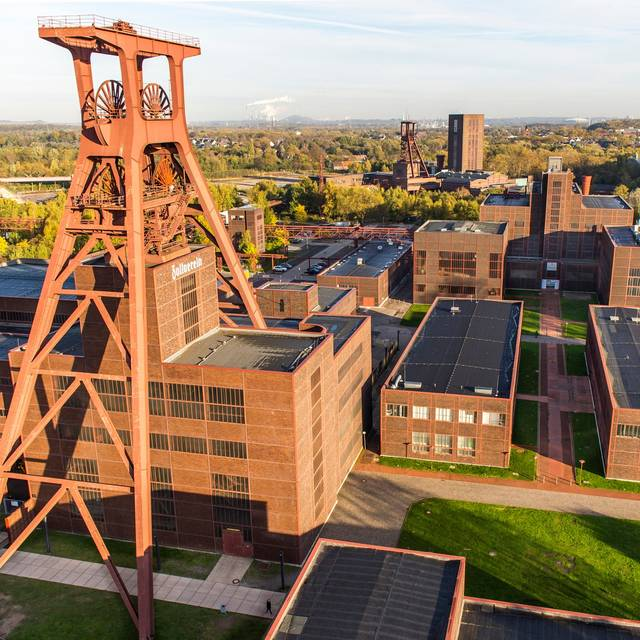 Zeche Zollverein in Stoppenberg